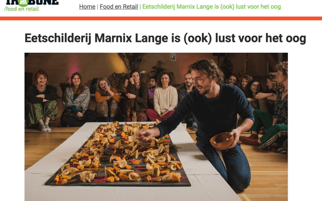 """Marketing Tribune: """"Eetschilderij Marnix Lange is (ook) lust voor het oog"""""""
