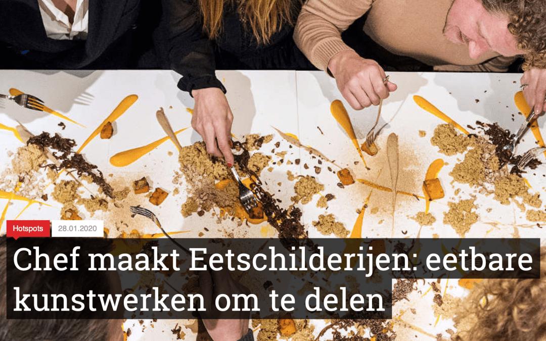 """Eatly: """"Chef maakt Eetschilderijen: eetbare kunstwerken om te delen"""""""